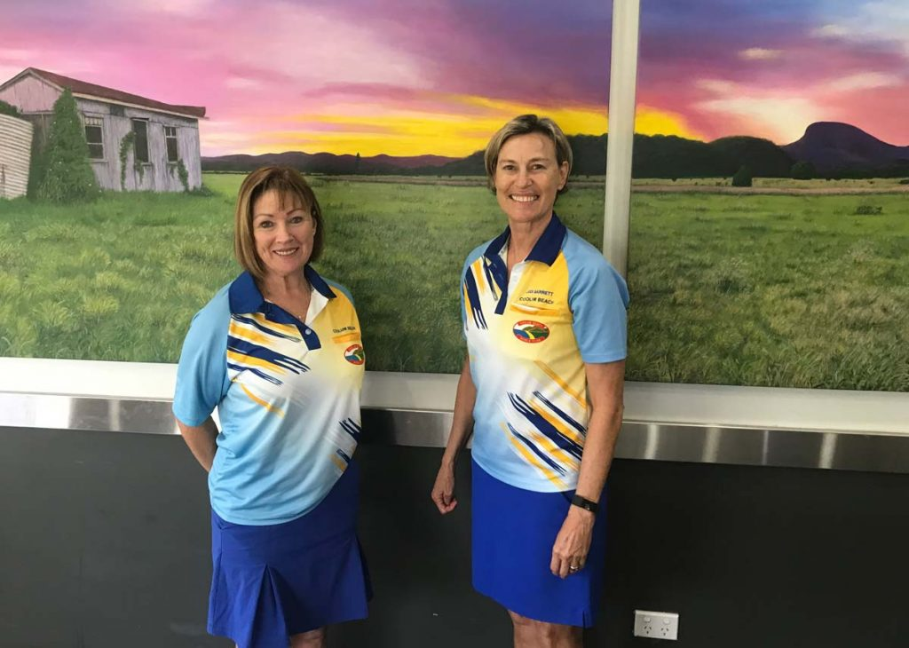 2019 Coolum Ladies Pairs Runners Up