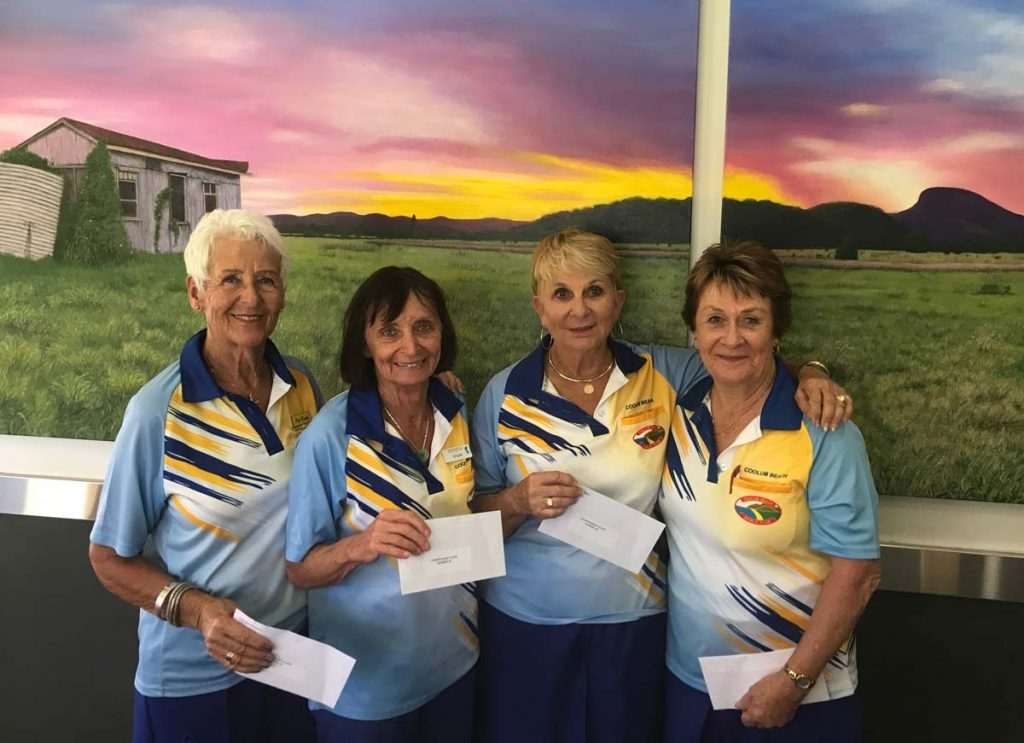 Club Champions 2019 Runner up Coolum Fours